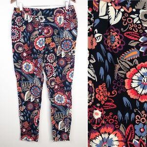 Boden Floral Jogger Flowy Pants
